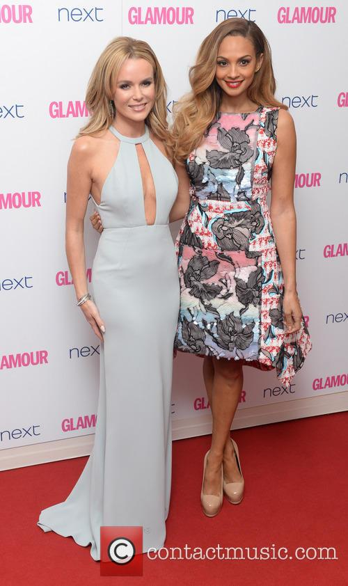 Amanda Holden and Alesha Dixon 11