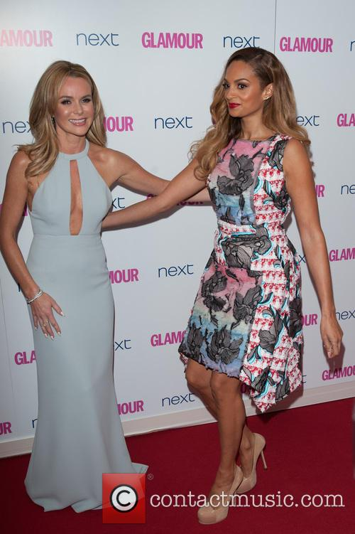 Amanda Holden and Alesha Dixon 1