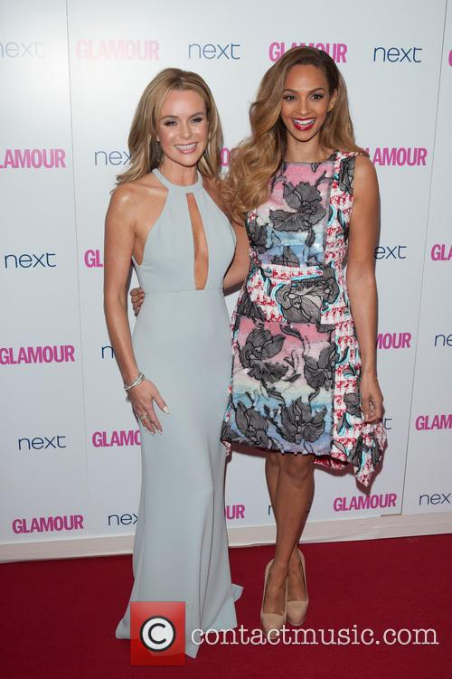 Amanda Holden and Alesha Dixon 2