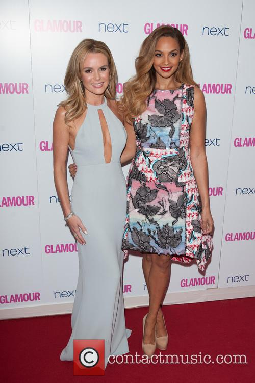 Amanda Holden and Alesha Dixon 5