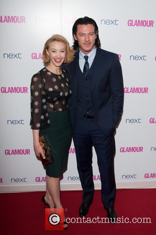 Luke Evans and Sarah Gadon 1