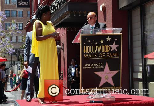 Luther Vandross Honored With Star On The Hollywood...