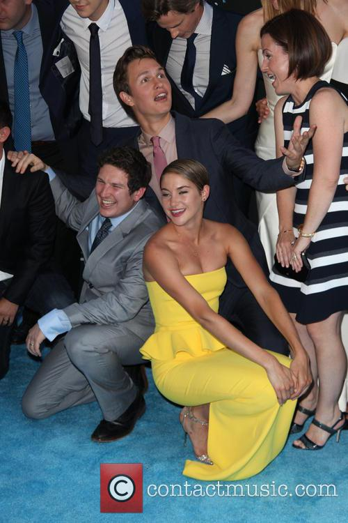 Shailene Woodley and Ansel Elgort 5