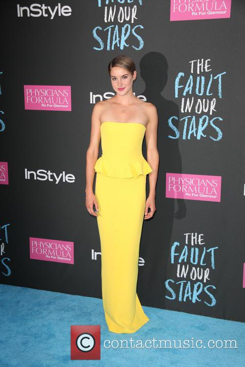 shailene woodley premiere of the fault in 4226817