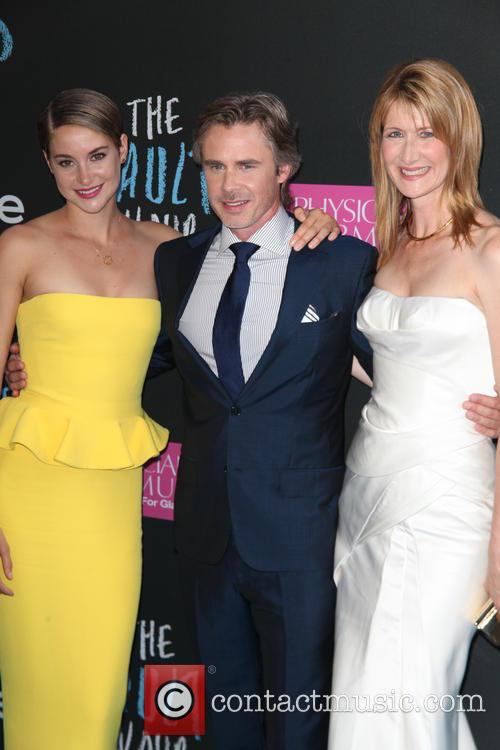 Shailene Woodley, Sam Trammell and Laura Dern 8