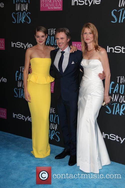 Shailene Woodley, Sam Trammell and Laura Dern 3