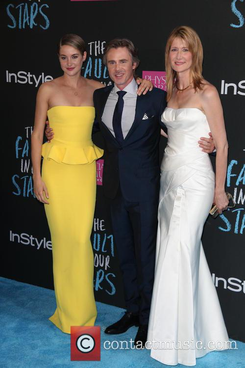 Shailene Woodley, Sam Trammell and Laura Dern 1