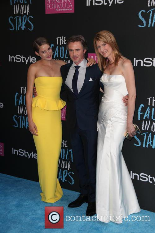 Shailene Woodley, Sam Trammell and Laura Dern 4