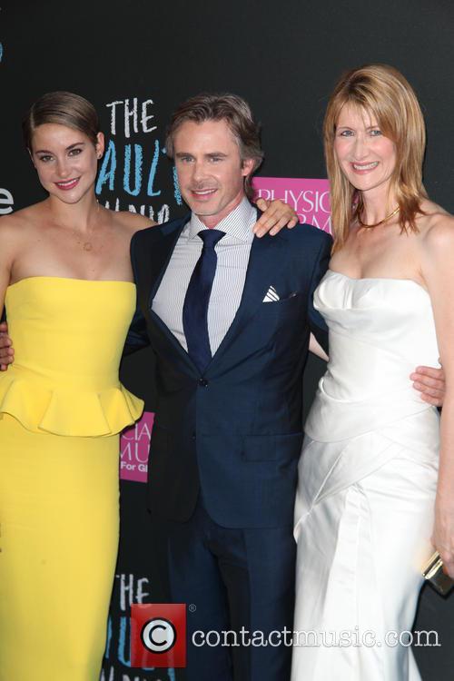 Shailene Woodley, Sam Trammell and Laura Dern 5
