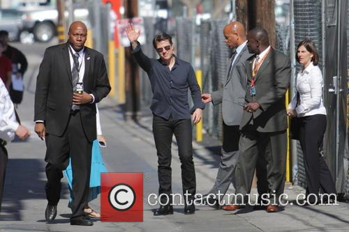tom cruise tom cruise leaves jimmy kimmel 4228727