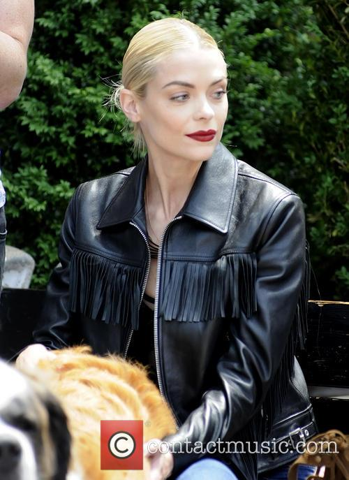 Jaime King spotted in Manhattan with her family