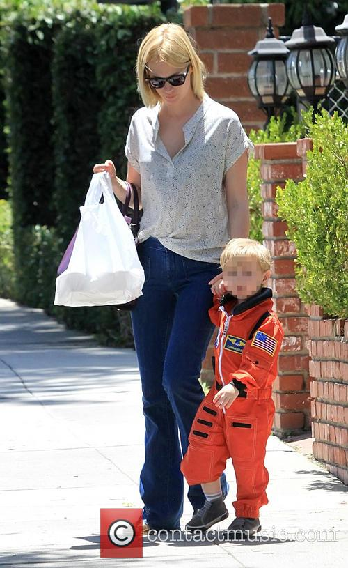 January Jones and Xander Jones 2