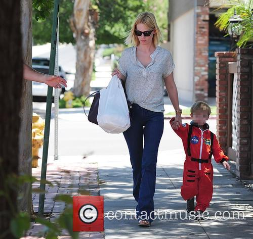 January Jones and Xander Jones 3