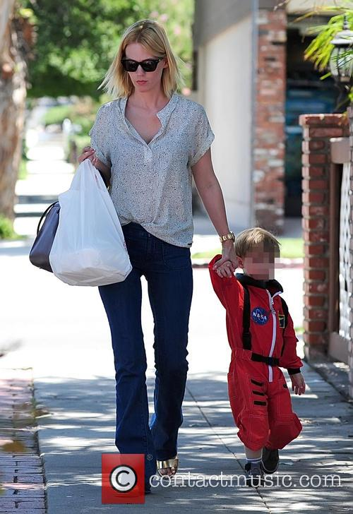 January Jones and Xander Jones 8