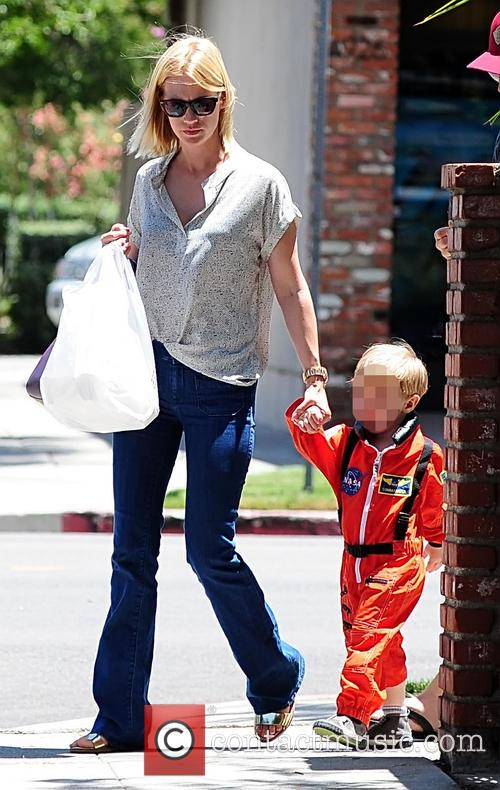 January Jones and Xander Jones 9
