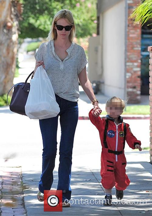 January Jones and Xander Jones 17