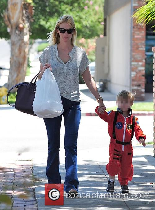 January Jones and Xander Jones 18