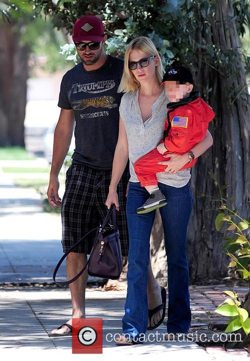 January Jones and Xander Jones 23