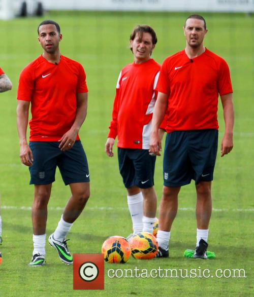 marvin humes mark owen paddy mcguiness soccer aid training 4229437