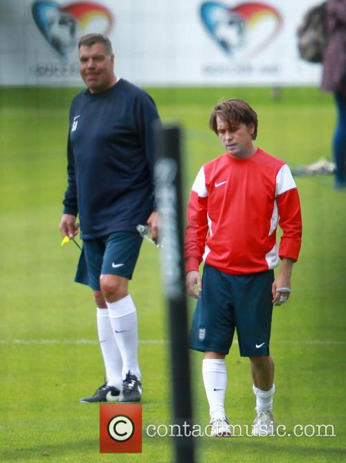 Sam Allardyce and Mark Owen 4