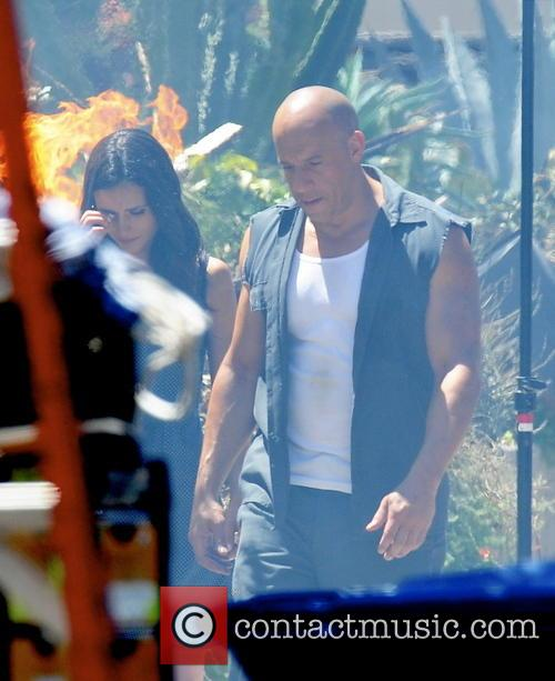 Vin Diesel and Jordana Brewster 2