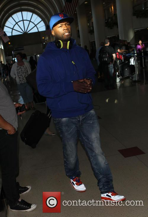 50 Cent at LAX