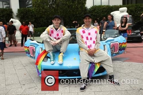 Deadmau5 and Tory Belleci 2