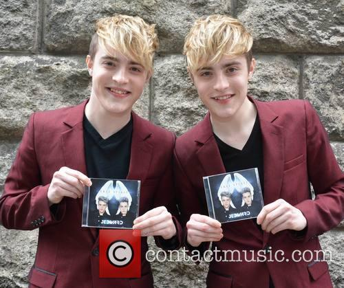 Jedward, John Grimes and Edward Grimes 5