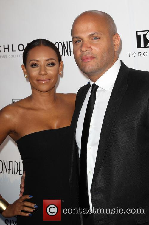 Mel B, Melanie Brown and Stephen Belafonte 4