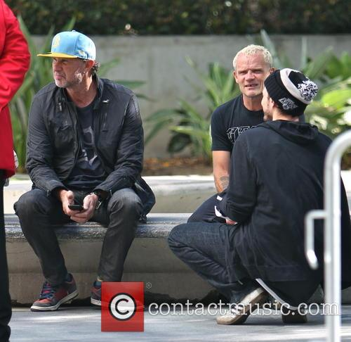 Chad Smith and Flea
