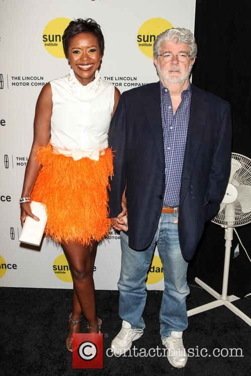 Mellody Hobson and George Lucas 2