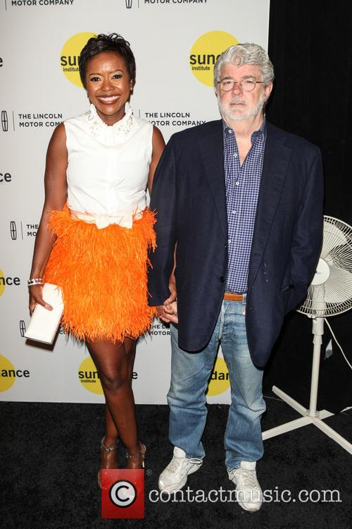 Mellody Hobson and George Lucas 3