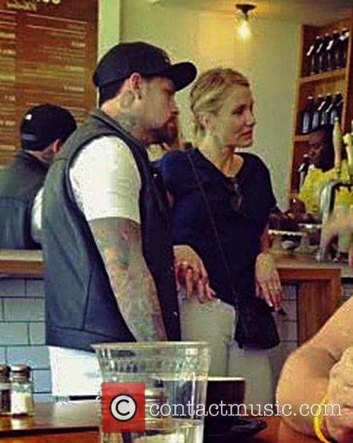 EXCLUSIVE Cameron Diaz and Benji Madden holding hands