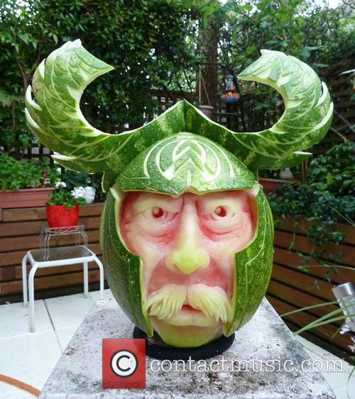 Magnificent Melon Carver Sculptures