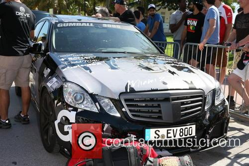 The cars of the 2014 Gumball 3000 Rally