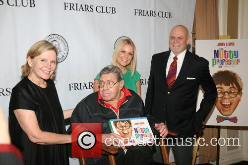 Jerry Lewis Celebrates 50th Anniversary Of 'The Nutty...