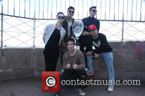 Midnight Red Visits The Empire State Building
