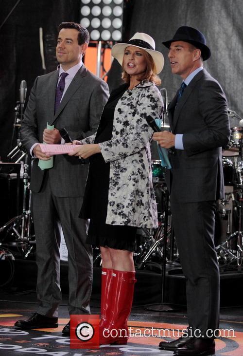 Carson Daly, Savannah Guthrie and Matt Lauer 2