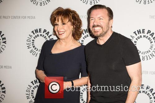 Joy Behar and Ricky Gervais 3