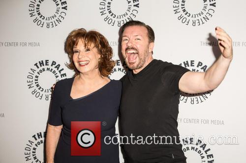 Joy Behar and Ricky Gervais 1