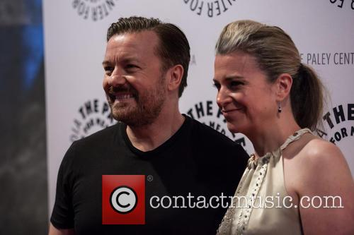 Ricky Gervais and Jane Fallon 9