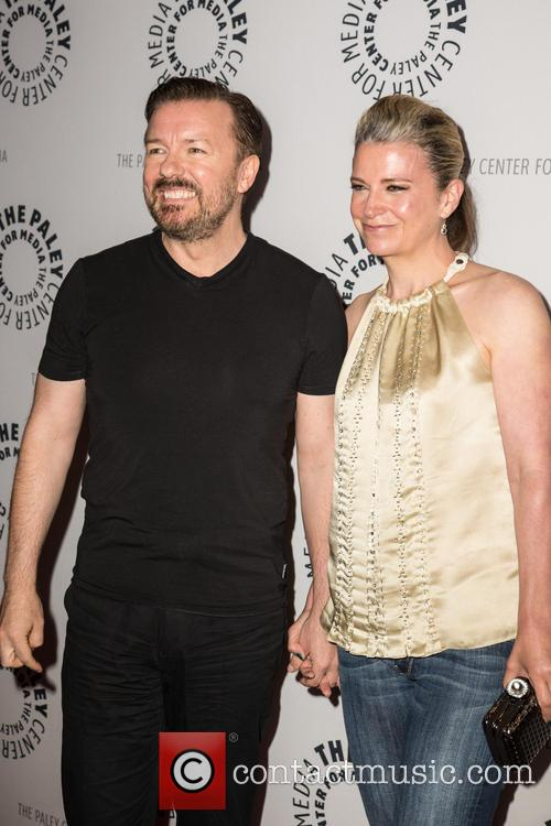 Ricky Gervais and Jane Fallon 11