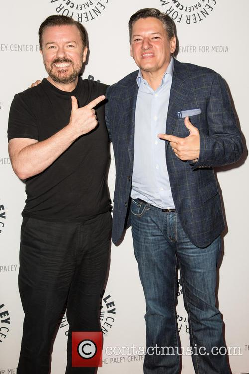Ricky Gervais and Ted Sandros 2