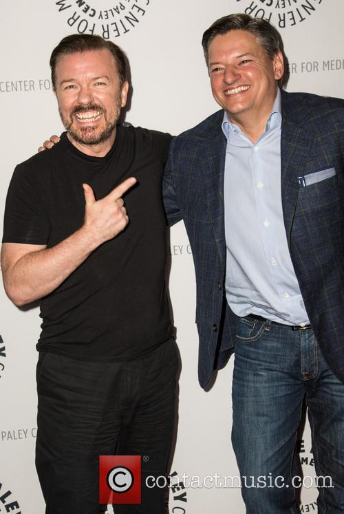 Ricky Gervais and Ted Sandros 1