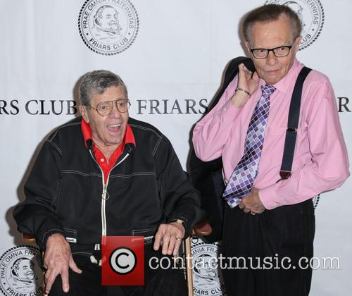 Jerry Lewis and Larry King 7