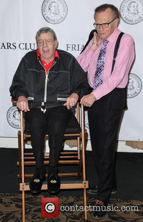 Jerry Lewis and Larry King 8