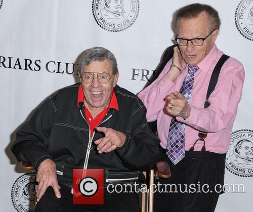Jerry Lewis and Larry King 9