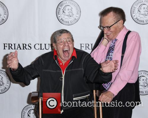 Jerry Lewis, Larry King, Friars Club