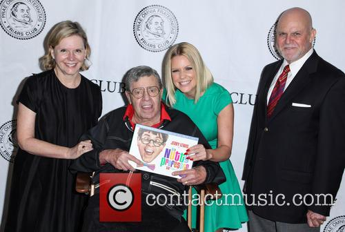 Jerry Lewis attends the Friars Club celebration of...