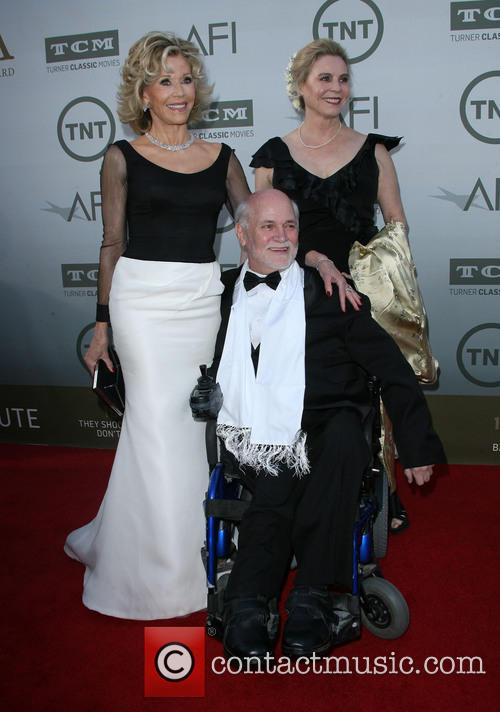 Jane Fonda, Ron Kovic and Perriann Ferren